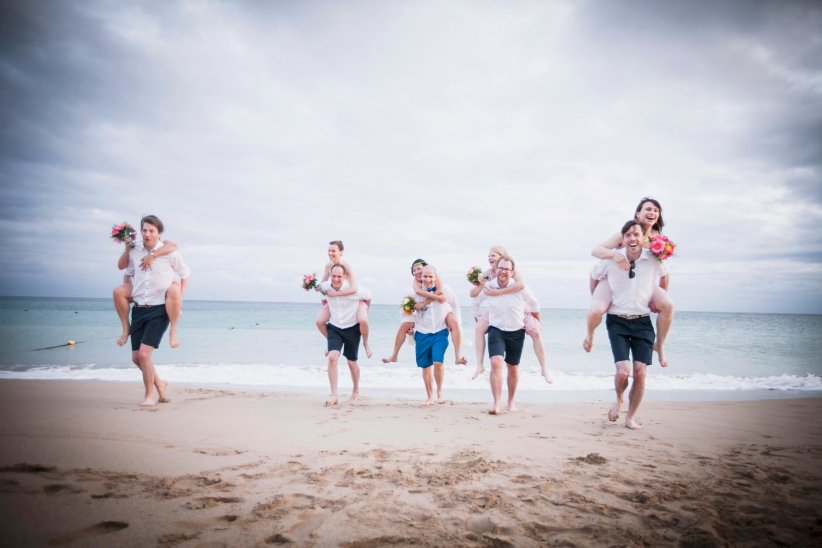 沙灘婚禮,戶外婚禮,墾丁夏都,婚攝,婚禮紀錄